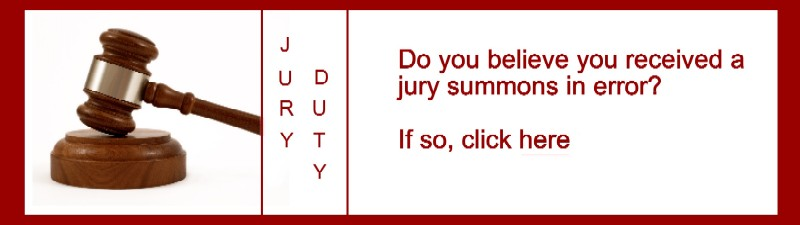 Jury Duty Summons Error